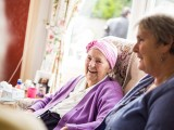 photo of a resident and carer 2